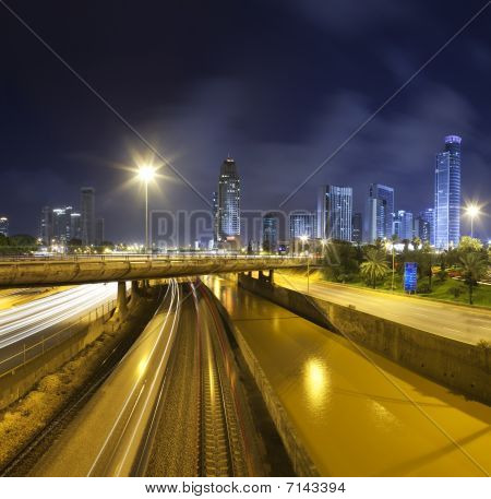 Ramat-gan At Night