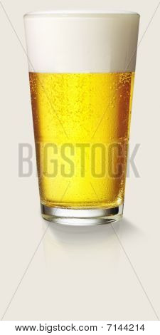 Perfect Glass Of Beer
