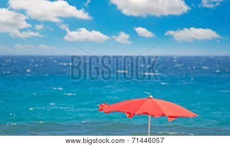 Red Parasol
