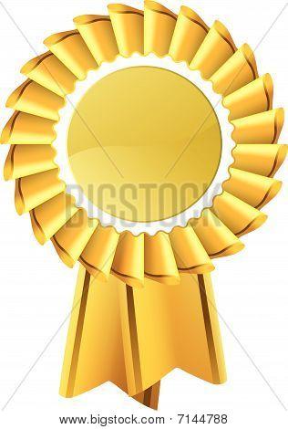 Gold Award Rosette Seal