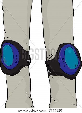 Knee Pads Closeup