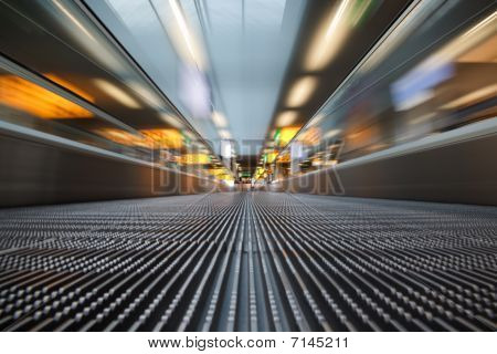 Airport Escalator
