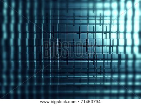 Abstract of cubes background