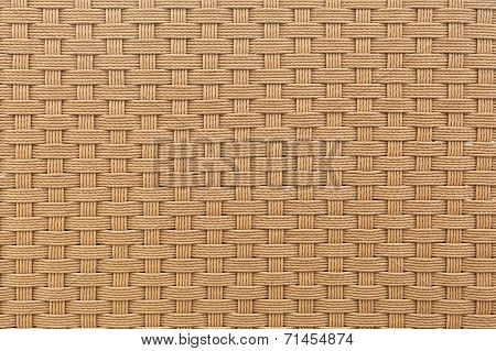 Weave Plastic Wicker Pattern Background