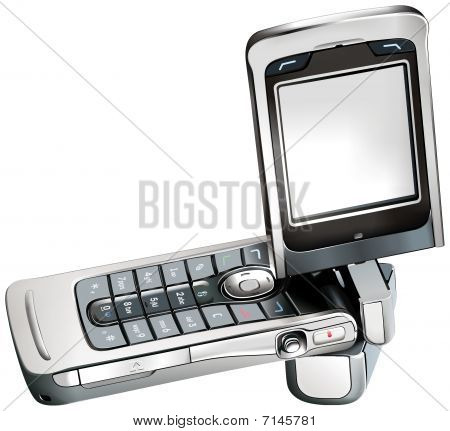Mobile Cellphone Cellular Phone Vector