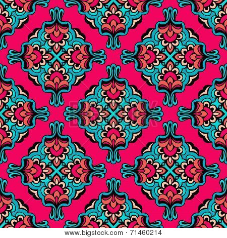 Festive Pink vector abstract circle pattern