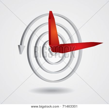 Time Concept, Abstract Clock