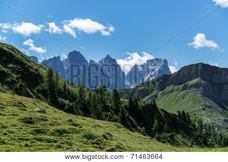 Dolomites, Landscape In Summer Season