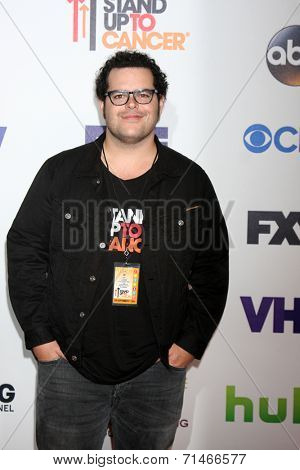 LOS ANGELES - SEP 5:  Josh Gad at the Stand Up 2 Cancer Telecast Arrivals at Dolby Theater on September 5, 2014 in Los Angeles, CA