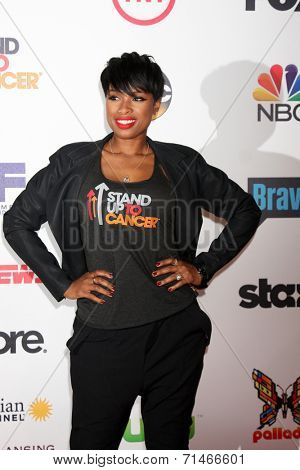 LOS ANGELES - SEP 5:  Jennifer Hudson at the Stand Up 2 Cancer Telecast Arrivals at Dolby Theater on September 5, 2014 in Los Angeles, CA