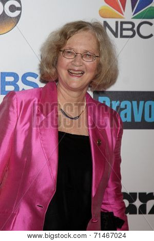 LOS ANGELES - SEP 5:  Elizabeth H. Blackburn, PhD, Nobel Laureate 2009 at the Stand Up 2 Cancer Telecast Arrivals at Dolby Theater on September 5, 2014 in Los Angeles, CA