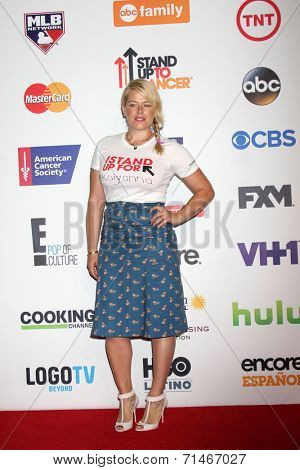 LOS ANGELES - SEP 5:  Amanda de Cadenet at the Stand Up 2 Cancer Telecast Arrivals at Dolby Theater on September 5, 2014 in Los Angeles, CA