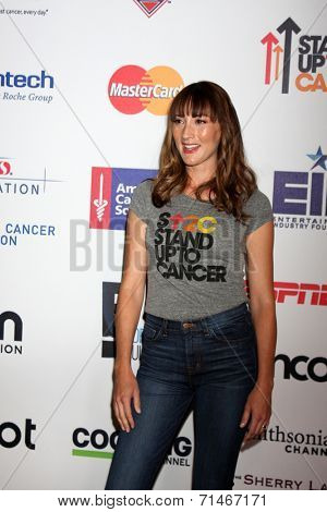 LOS ANGELES - SEP 5:  Bree Turner at the Stand Up 2 Cancer Telecast Arrivals at Dolby Theater on September 5, 2014 in Los Angeles, CA