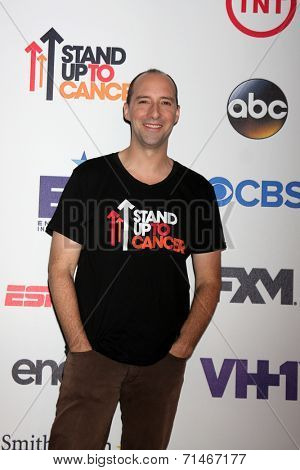 LOS ANGELES - SEP 5:  Tony Hale at the Stand Up 2 Cancer Telecast Arrivals at Dolby Theater on September 5, 2014 in Los Angeles, CA