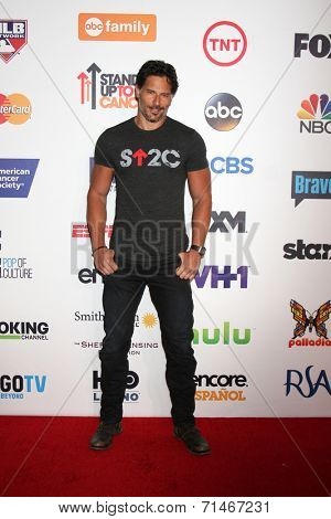 LOS ANGELES - SEP 5:  Joe Manganiello at the Stand Up 2 Cancer Telecast Arrivals at Dolby Theater on September 5, 2014 in Los Angeles, CA