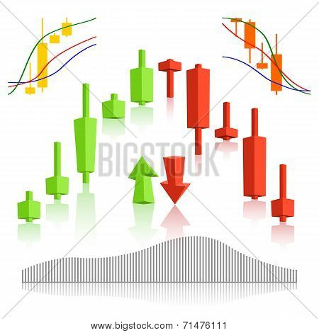 Commodity, Forex Trading Vector