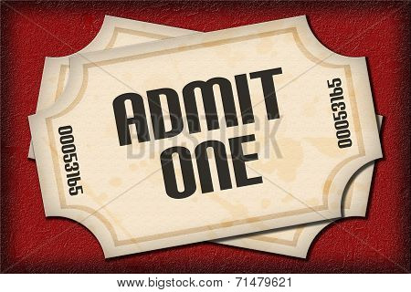 Tickets On Red Carpet