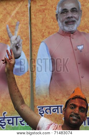 BJP supporter.