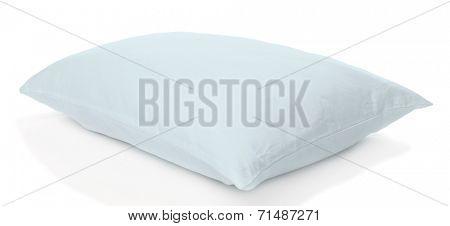 White pillow isolated on white