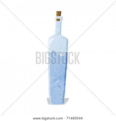 cartoon posh bottle