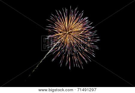 Coney Island Beach Fireworks