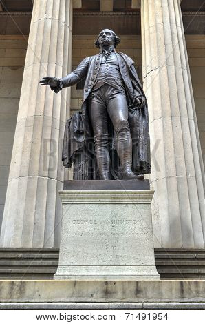George Washington, Federal Hall, New York