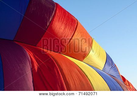 Hot air balloon detail horizontal