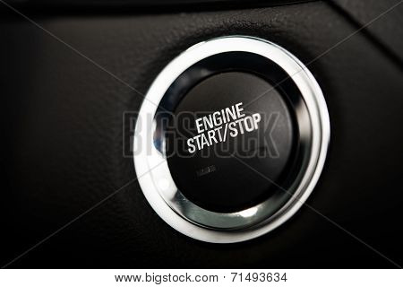 Car Engine Start Button