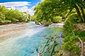 image of underworld  - Landscape and Acheron river in Greece - JPG