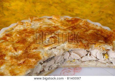 Pastel de pollo