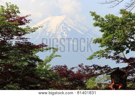 Fuji Mountain, UNESCO World Heritage Site, Is One Of The Most Famous Tourist Destinations In Japan