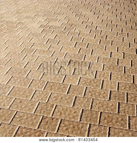 Tiled floor background