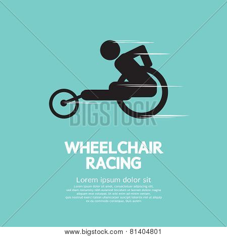 Wheelchair Racing.