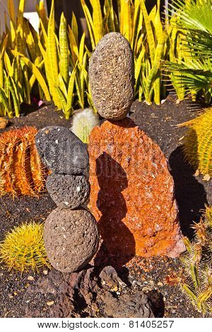Stone Sculptures Build From Volcanic Stones