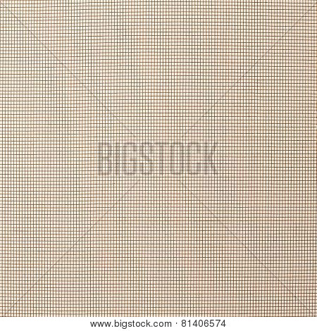 Small cell mosquito net texture