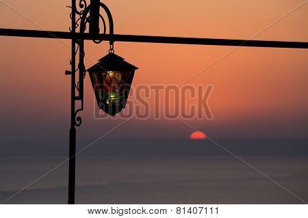 Nostalgic Reminiscence At Sunset