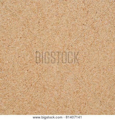 Pressed wood fibers