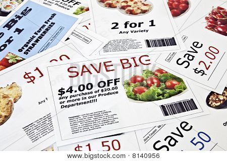 Fictional Coupon Background
