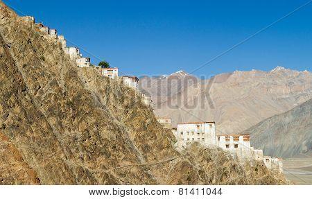 Kursha Monastery Panorama At Sunny Day