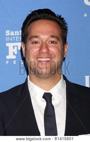 SANTA BARBARA - JAN 27:  Richard Raymond at the Santa Barbara International Film Festival - US Premiere of