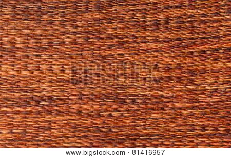 Mat Handcraft Rattan Weave Texture For Background