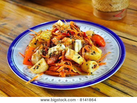 The Papaya Salad