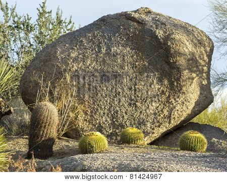 Add your message, sign or advertisement on this giant boulder.  A photo of a giant boulder - residential marker point used as signage with deep bevelled text.