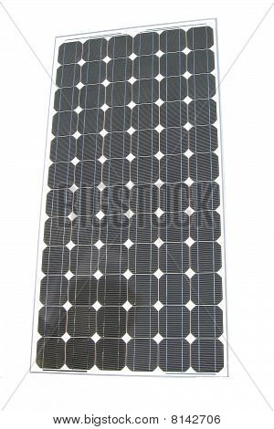 solar panel isolated, closeup texture, industrial equipment