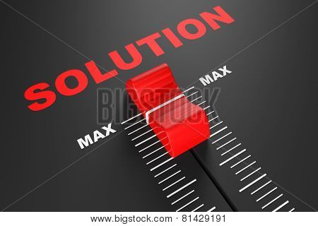 Max Solution Value Mixer Slider