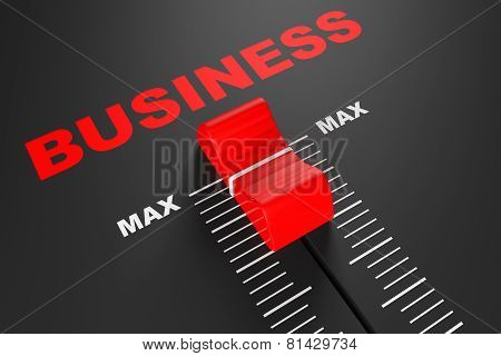 Max Business Value Mixer Slider