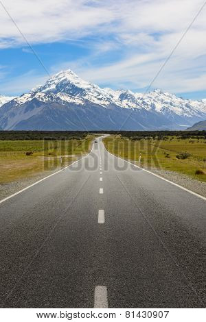 On The Way To Mount Cook
