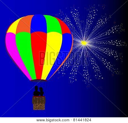 4Th July Hot Air Balloon
