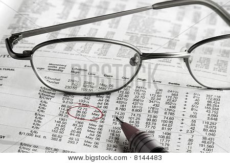 Finances And Glasses