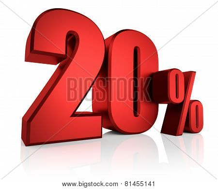Red 20 Percent